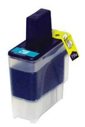 Brother LC41C Compatible Cyan Inkjet Cartridge