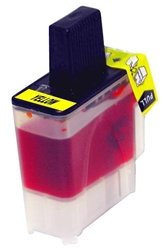 Brother LC41Y Compatible Yellow Inkjet Cartridge