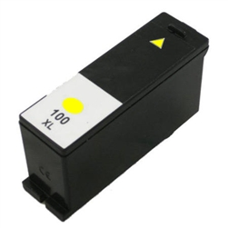 Lexmark 100XL Compatible 14N1071 Yellow Ink Cartridge