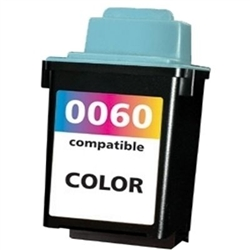 Lexmark 60 Compatible 17G0060 Color Ink Cartridge