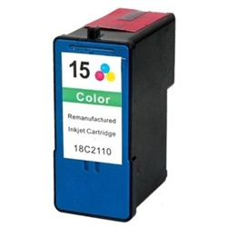 Lexmark 15 Compatible 18C2110 Color Ink Cartridge