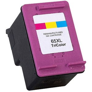 HP 65XL Compatible N9K03AN High Yield Tri-Color Ink Cartridge
